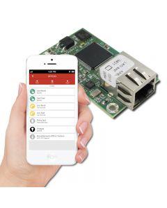 AX-LAN Modulo per gestione in rete della centrale Axo' 404 tramite web server incorporato o connettivita TCP-IP.