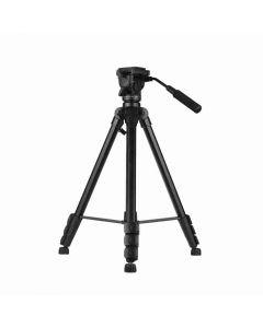 VCT-999 Treppiede regolabile a 4 sezioni con testa a bilanciere fluida per videocamera Blackbody DAHUA-2182 (JQ-D70Z).